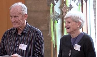 Dennis Carlson & Beulah Downing
